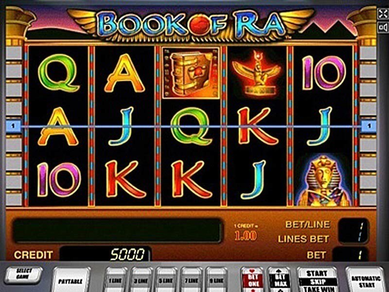 Book of Ra online – eines der beliebtesten Slotgames aller Zeiten