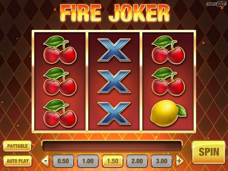Spielen Sie den Fire Joker Slot kostenlos